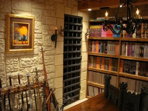 gaming dungeon room decor