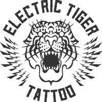 electric tattoo logo electric tiger tattoo tattoo shop in san diego ca