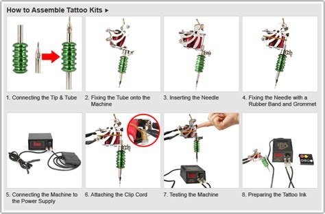 tattoo needle setup w1 aluminum alloy torture rack rotary liner shader tattoo