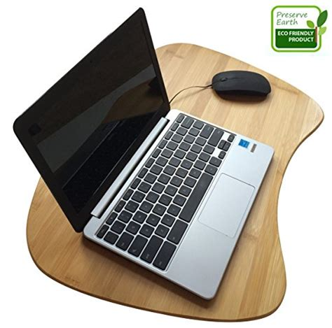 Cushion Laptop Desk Bamboo Laptop Desk Of Large Size Bamboo Lapdesk Surface With Cushion And