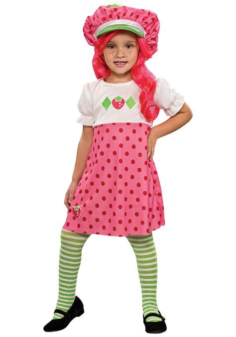 toddler halloween costumes cheap toddler strawberry shortcake girls costume kids