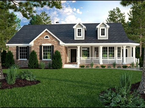 ranch homes designs best 25 single story homes ideas on country