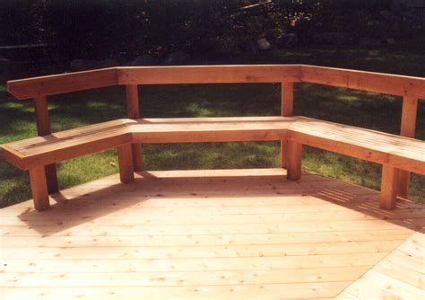 deck bench designs benches decks home decoration club