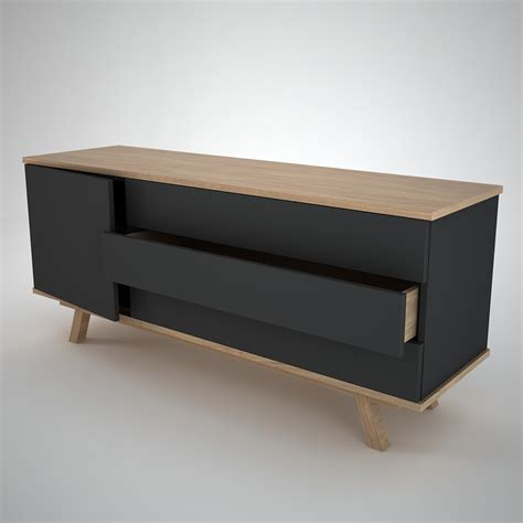 Ottawa Sideboard 1 3 Anthracite Join Furniture Modern 1 Furniture