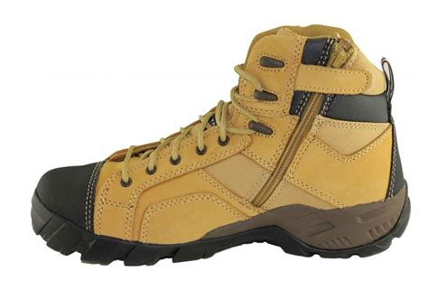 Caterpillar S7 Safety Boot caterpillar cat argon hi side zip mens steel toe work safety boots brand house direct