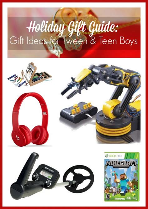 holiday gift guide gift ideas for tween teen boys