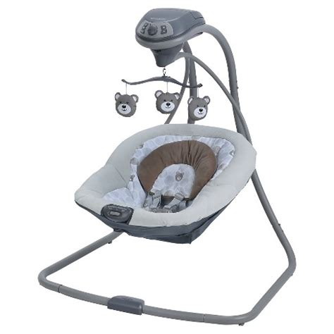 graco baby swing graco simple sway baby swing target