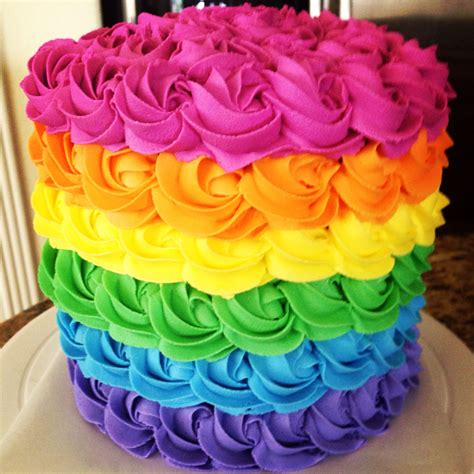 colorful birthday cakes rainbow cake 2 stunning inside and out moist almond