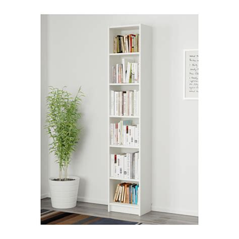 billy bookcase white 40x28x202 cm ikea
