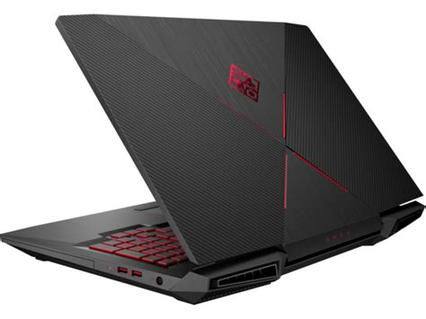 Hp Omen 17 An068tx Nvidia Gtx1070 8gb Ci7 7700hq 512gb Ssd Ram 32gb 1 hp omen gaming laptop 17 quot touch screen 1js54av 1 hp 174 omen