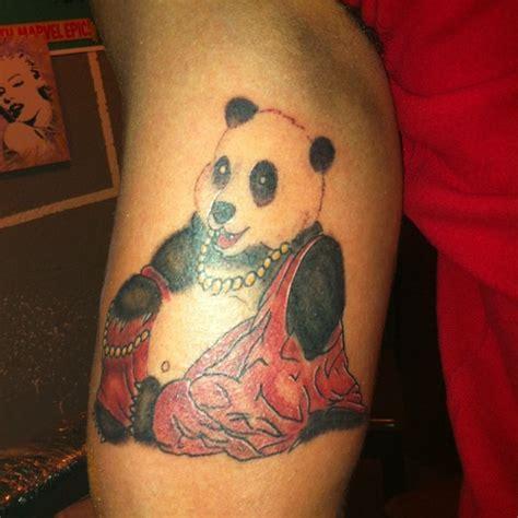 panda tattoo shop panda buddha tattoo by zero1er on deviantart