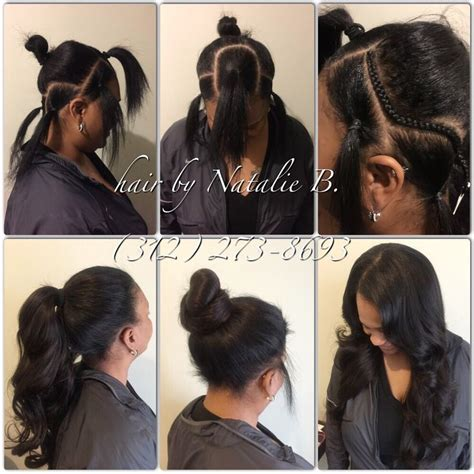 show mi styles of dior weave another flawless install by me perfect pony sew in hair