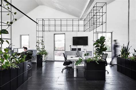 Interior Designer Office candlefox hq a graphic black and white office in