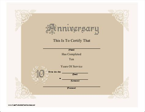 templates cards and certificates most printable anniversary card templates for