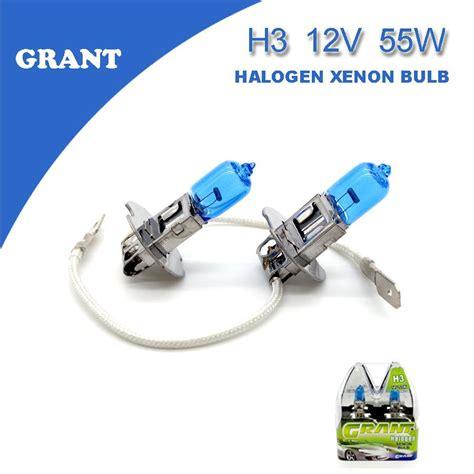 H4 12v Led 6000k 1set 1set grant h3 halogen xenon bulbs 55w 5000k white dc