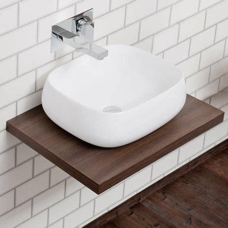 countertop shelves bathroom 25 best ideas about countertop basin on pinterest