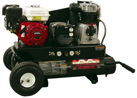 combination air compressor generator units