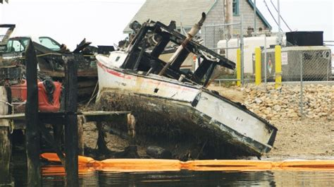 fisherman and boat owner magazine reimbursement slow for boats lost in menemsha fire new