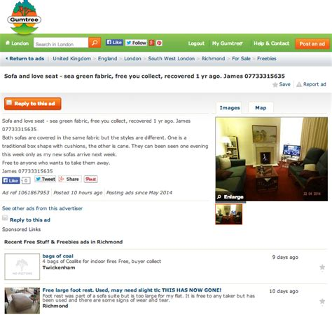 Gumtree Free Section 28 Images Furnish Your House For