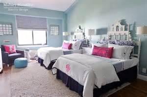 Navy Blue Bedroom Decorating Ideas pagoda headboards contemporary girl s room mabley