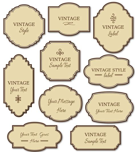 best 25 label templates ideas on pinterest free