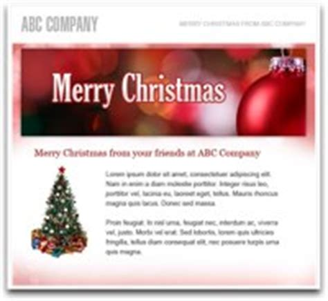 send  holiday email   customers  prospects