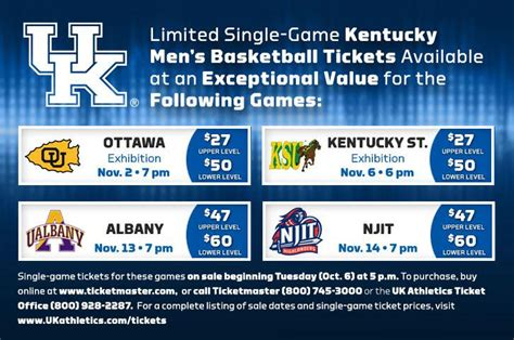 uk basketball schedule radio single game tickets to the first four basketball games go