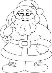 tegning jul kontur vektor colourbox