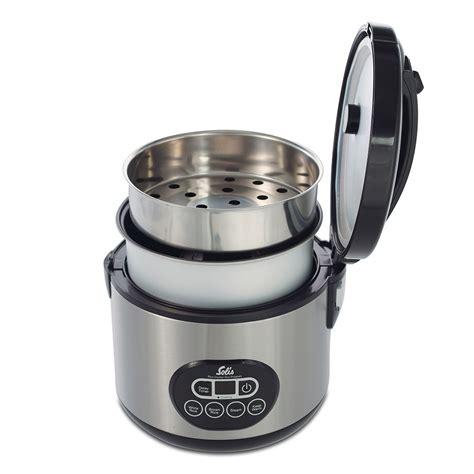 cuisiner avec un rice cooker solis rice cooker duo program cuisson vapeur cuisine