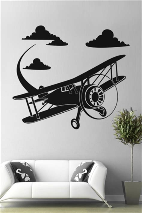 aeroplane wall stickers wall decals airplane walltat without boundaries