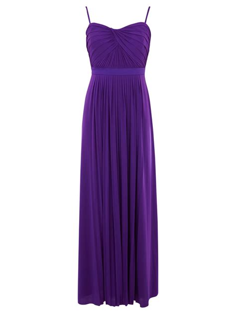 Purple Maxi Dress coast polina maxi dress in purple lyst