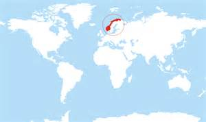 World Map Norway by Where Is Norway Located On The World Map