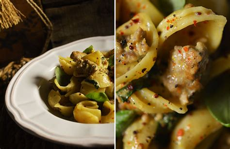 Todays Special Pasta With Sausage Basil And Mustard by Sausage Mustard And Basil Seashells The Travelling Pantry