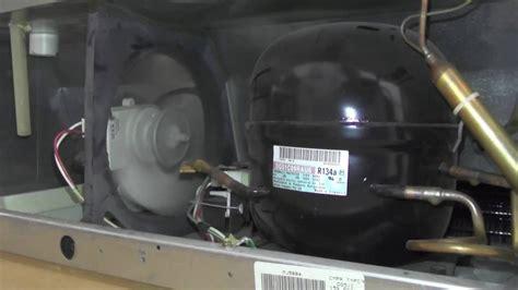 refrigerator condenser fan not working 02427 panasonic dg51c69rau6 refrigerator compressor