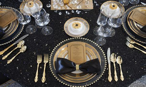 black and gold table silver centerpieces for table black and gold wedding