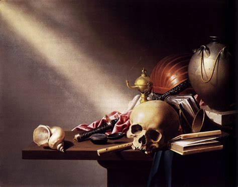 An Allegory Of The Vanities Of Human vanitas still by steenwijck harmen