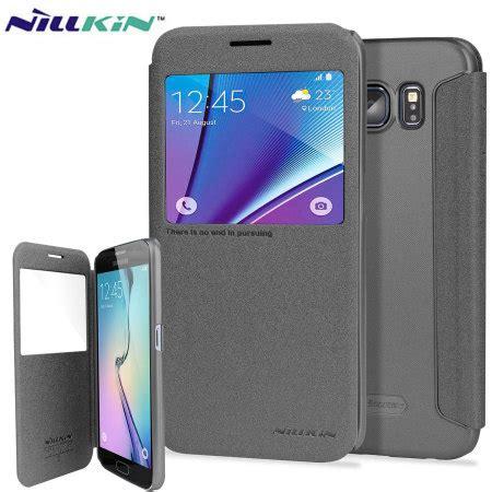 Nillkin Sparkle View Cover Samsung G935 Galaxy S7 Edge Handphone T nillkin sparkle big view window samsung galaxy s7 black reviews