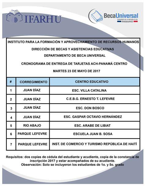 Cronograma De Pago De Becas Universal 3trimestre 2016 | calendario de iii pago beca universal 2017 presunsepe