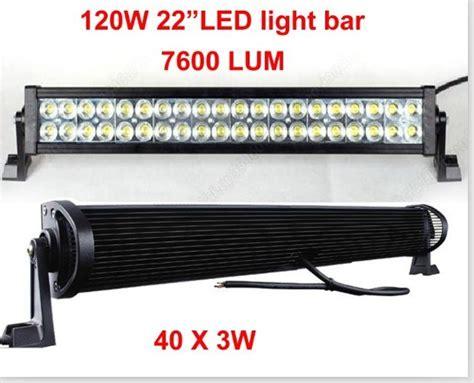 industrial led light bar china 120w 22 quot led work light bar 4x4 offroad 12v 24v car