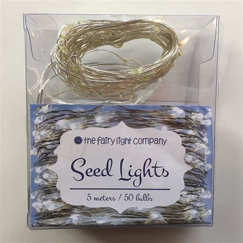 pure white fairy lights battery seed fairy lights silver wire pure white the