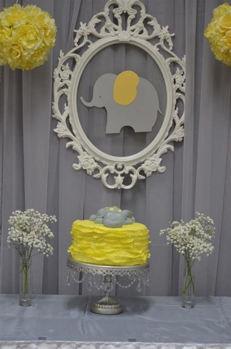 Elephant baby shower decor   Simply Elegant   Wedding