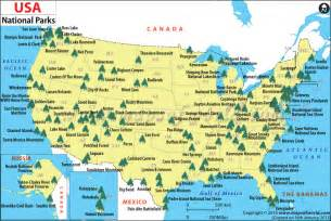 national parks national parks map parents and country
