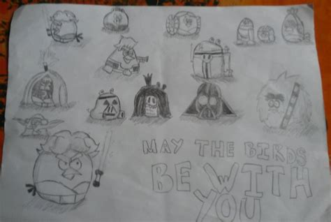 angry birds wars doodle activity annual 2013 angry birds wars doodles by marypeachbird on deviantart