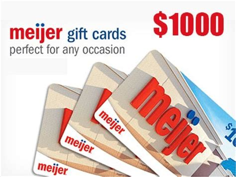 Meijer Gift Card - www tellmeijerrx smg com win a 1 000 meijer gift card through meijer customer