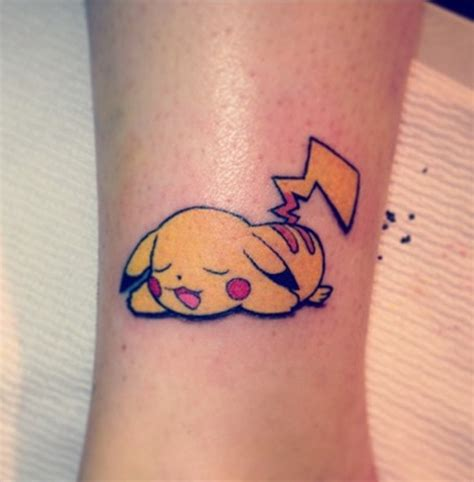 pikachu designs ideas and meaning tattoos for you