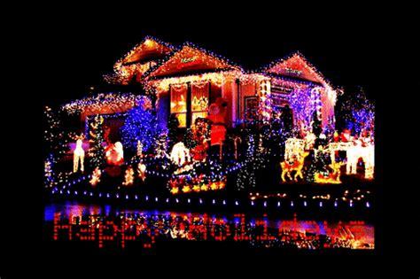 christmas lights gif find share  giphy