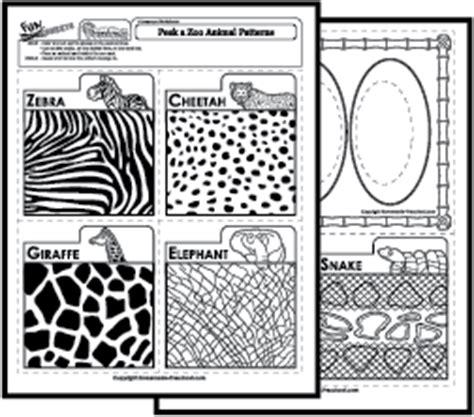 animal pattern worksheets for kindergarten science worksheets animals