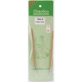 chiaogoo knitting needles reviews chiaogoo premium bamboo 32 circular knitting needles size 6