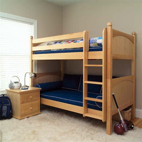 kids twin loft bed twin bunk beds in natural by maxtrix kids 700 0
