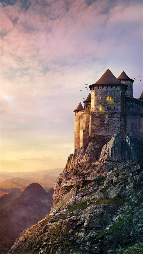wallpaper castle hd  creative graphics